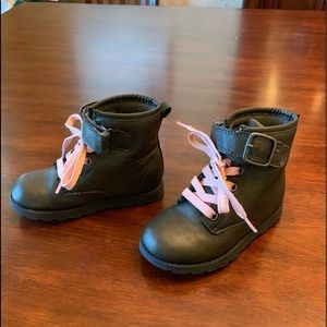 SOLD ON MERCARI Dark brown girls boots